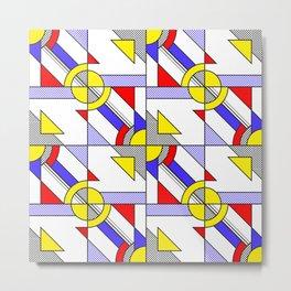 Pop Art Pattern Metal Print