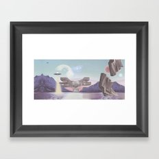 PLANET Podgarić / S/A Framed Art Print
