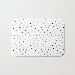 Polka Dots in Love Bath Mat
