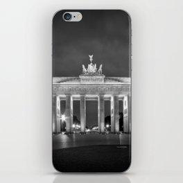 BERLIN Brandenburg Gate | monochrome iPhone Skin