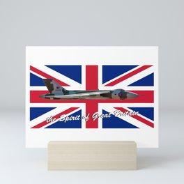 The Spirit of Great Britain and Union Jack Mini Art Print