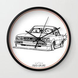 Crazy Car Art 0209 Wall Clock
