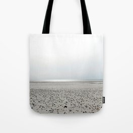 North Sea Beach, low tide Tote Bag