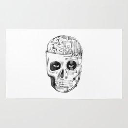 Skull: Man vs. Machine Rug