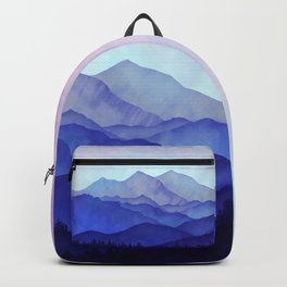 Blue Morning Backpack