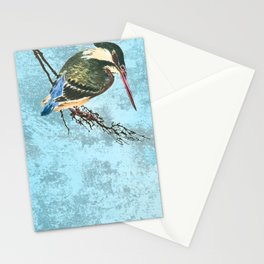 Watching the river Stationery Cards