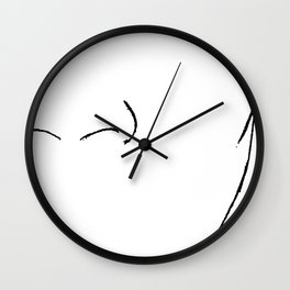 Freedom of Expression 2 of 3 Wall Clock