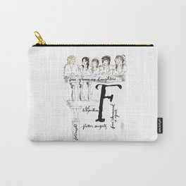 ABCs of Pride and Prejudice F Carry-All Pouch