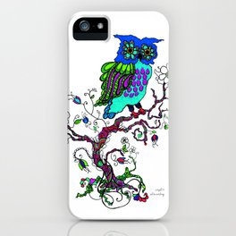 Owl Be Waiting iPhone Case