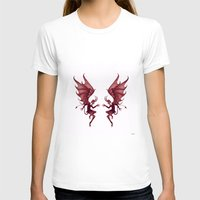 diablo T-shirts featuring Double Diablo by Little Bunny Sunshine
