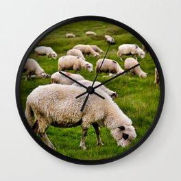 Sheeps Wall Clock