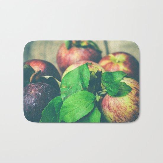 Autumn Apples Bath Mat