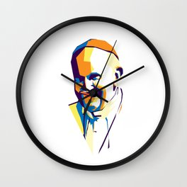 Pope Francis Wall Clock
