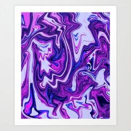 Goob Blurple Art Print