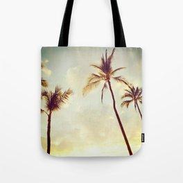 Hawaii Palms Tote Bag