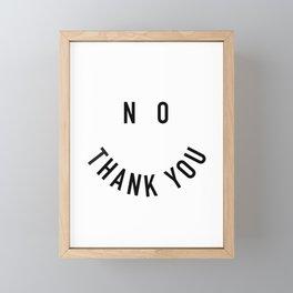 Thank You Framed Mini Art Print