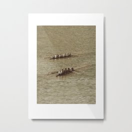 Do not row gentle Metal Print