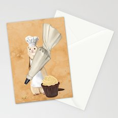 Ferret and Frosting Stationery Cards