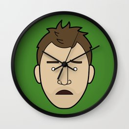 Faces of Breaking Bad: Jesse Pinkman (Early) Wall Clock