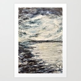 Enniscrone Twilight Art Print