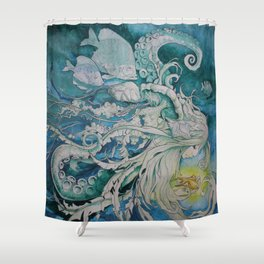 The Golden One II Shower Curtain