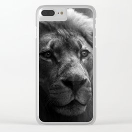 A Study in Strength Clear iPhone Case