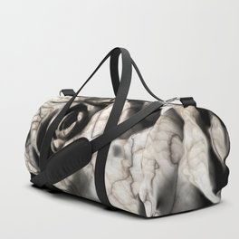 Rose forming from light and shadows Duffle Bag