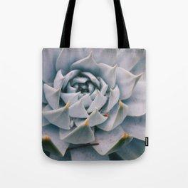 Pale Succulent Center Tote Bag