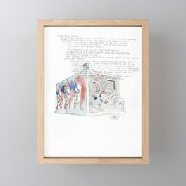 44 Ghuznee Street Framed Mini Art Print
