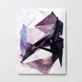 Color Soaked Metal Print
