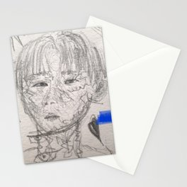 I.M. .Drawing Stationery Cards