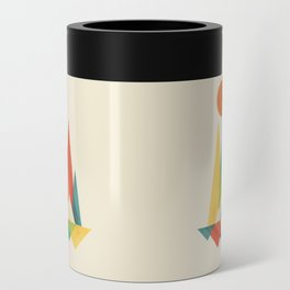 Bear In Whimsical Wild Can Cooler