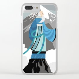 great asian chinese thinker philosopher Clear iPhone Case
