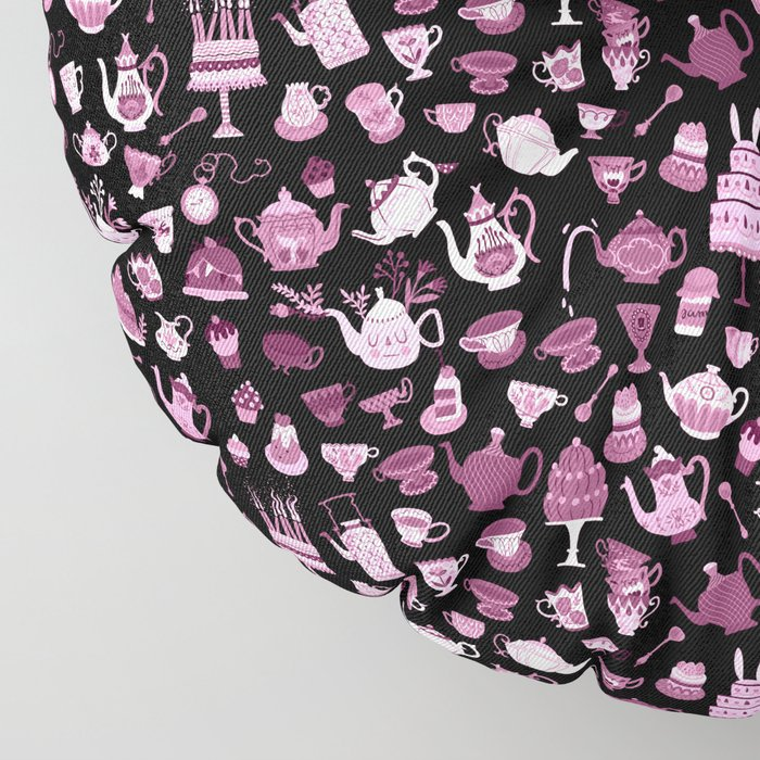 Alice in Wonderland - Mad Tea Party II Floor Pillow