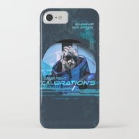 garrus iPhone & iPod Cases featuring Garrus Vakarian with shades by TheEmbraced