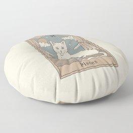 Pisces Cat Floor Pillow