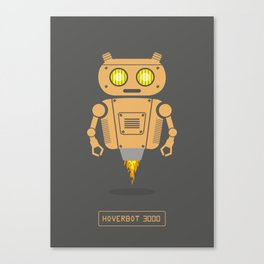 Hover Bot Canvas Print