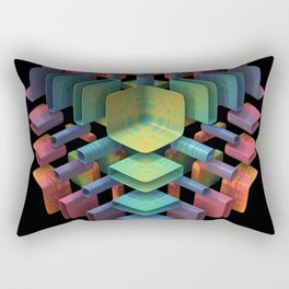 Together, Separately Rectangular Pillow