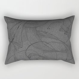 Draggin Flys - I have the actual hand printed and signed prints for sale still. Unframed $40.00 Rectangular Pillow