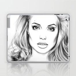 Angelina Jolie fanart Laptop & iPad Skin