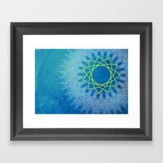 Ice Rotation Framed Art Print