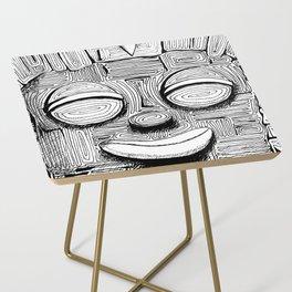 '恐怖核心與小鳥 Scarecore and Bird' Cover Illustration 2 Side Table