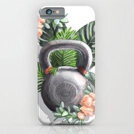 Kettlebell Queen iPhone Case