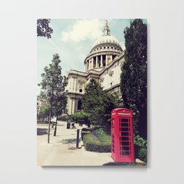 St Paul Booth Metal Print