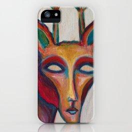 Giraffe Man iPhone Case