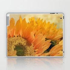 Here Comes the Sun -- Sunflower Botanical Laptop & iPad Skin
