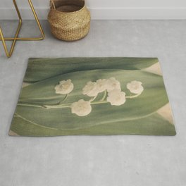 Scents of Spring - Lily of the Valley iii Rug