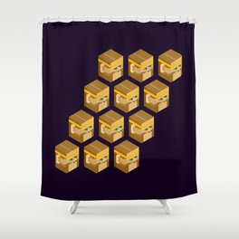Wukong Clones Shower Curtain