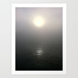 Sunrise in Carmel, CA Art Print