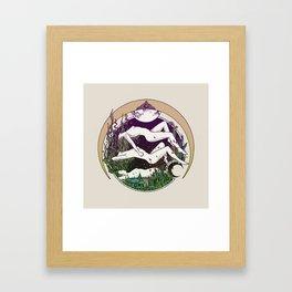 MOONGALBA Framed Art Print